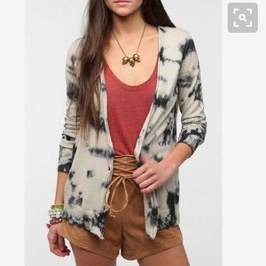 Urban Outfitters tie dye cardigan